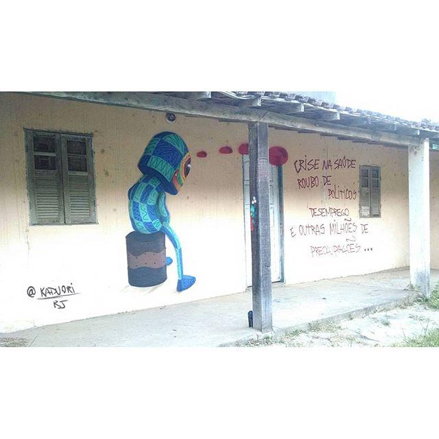 #kaduori #kaduoriginal #saopedrodaaldeia #graffiti #streetartrio #streetart