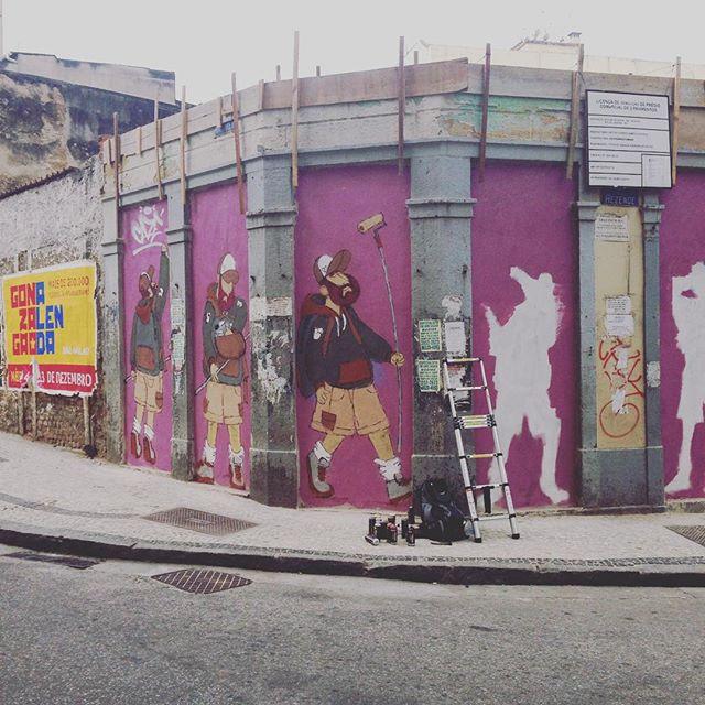 #motiongraffiti #barbudinhoandarilho #centro #sketchwall #cazesawaya #cazé #streetart #streetartrio