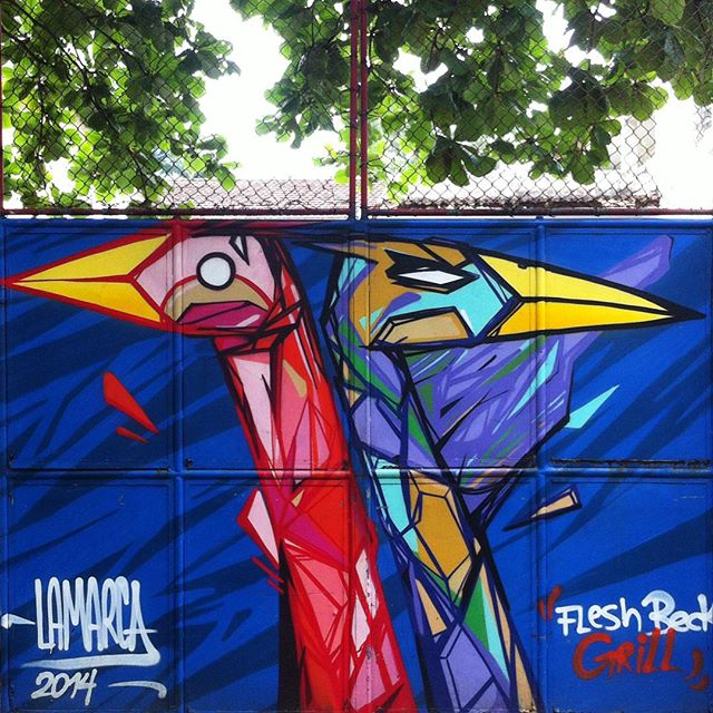 #streetartrio #graffiti #grafite #lamarca