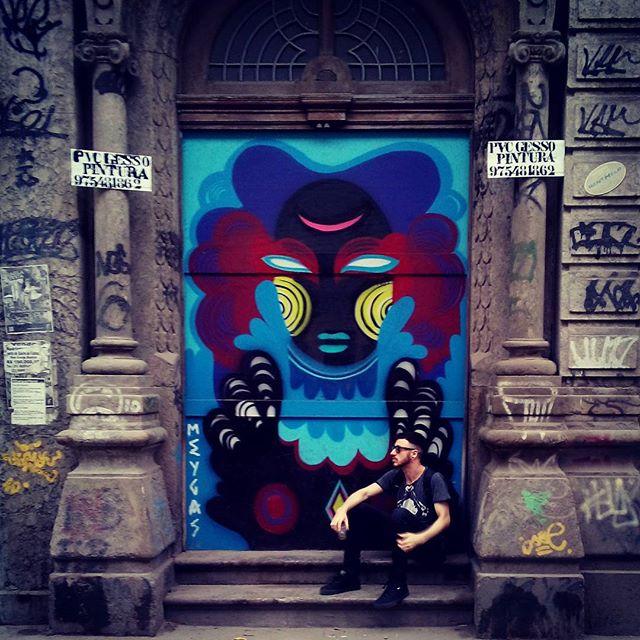#streetartrio #streetart #goth #altboy
