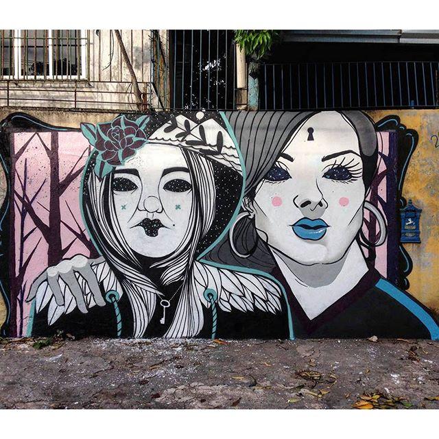 @camilacamiz + @zecoaepen нарисовали в Рио-де-Жанейро. #camilacamiz #camiz #zeco #zecoaepen #streetartrio #streetartrj #graffitirio #graffitirj #streetartbr #igersbrazil #ig_brazil #graffitibrazil #граффити_tschelovek #streetart #urbanart #graffiti #mural #стритарт #граффити #wallart #graffitiart #artederua #grafite #arteurbana #wall #graffiticulture #graffitiwall #streetart_daily #streetarteverywhere