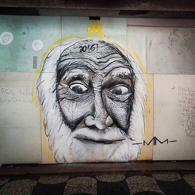 @marcelo_melo_graffiti нарисовал в Нитерое (Бразилия). #marcelomeloarteurbana #streetartrio #streetartrj #graffitirio #graffitirj #streetartbrazil #streetartbrasil #streetartbr #brazilstreetart #graffitibrasil #brasilgraffiti #brazilgraffiti #igersbrazil #ig_brazil #graffitibrazil #граффити_tschelovek #streetart #urbanart #graffiti #mural #стритарт #граффити #wallart #artederua #arteurbana #graffitiwall #streetart_daily #streetarteverywhere