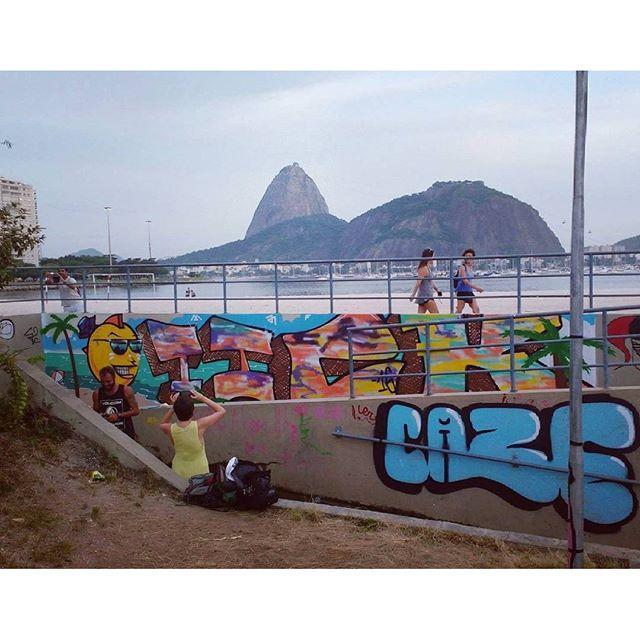 A cidade é nossa. #streetartrio #graffiti #riodejaneiro