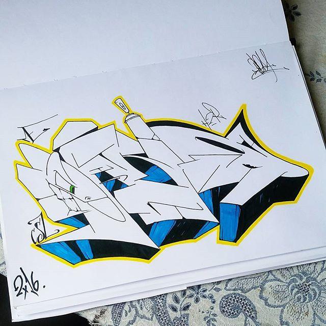 Blackbook session  #graffiti #graffitiart #streetart #art #arte #arteurbana #graffitikings #letters #weloveletters #artsy #hiphop #street #streetartrio #wildstyle #wildstylegraffiti #graffitilovers #vsco #vscocam #BlopaOne #Blopa