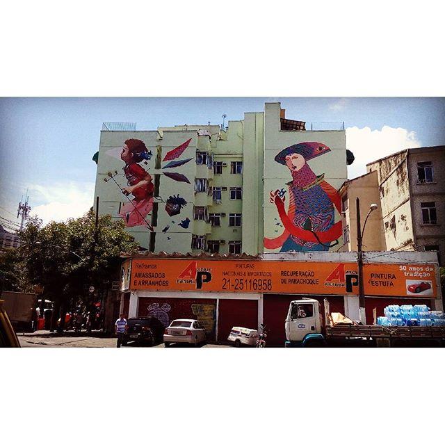 By @acidumproject. Rio de Janeiro. 23/01/2016 | vandalogy #streetartrio #streetart #riodejaneiro #graffiti #spray #acidumproject #vandalogy2016
