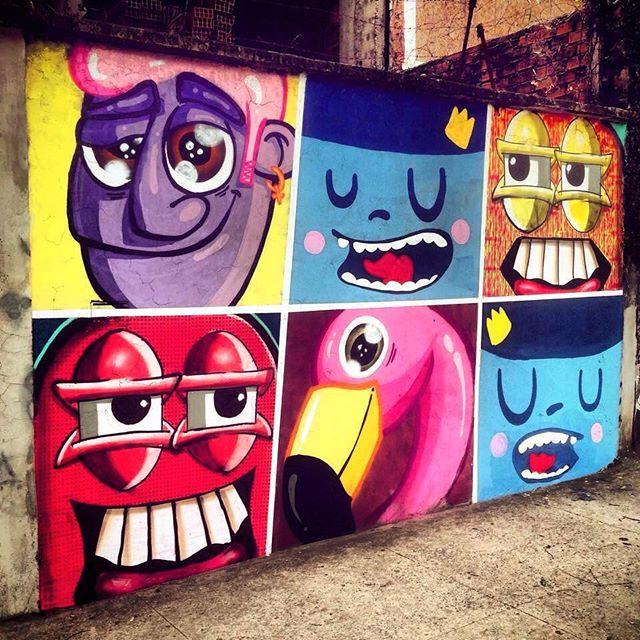 Cada um no seu quadrado! #trapacrew #transformation #mtnrio #mtn #spraypaint #street #streetartrio #streetart #riodejaneiro #tijuca #cariocando #graff #graffiti #graffitiart #instagram #urbanart #paint #painting #nadigraffiti #cast #rafag
