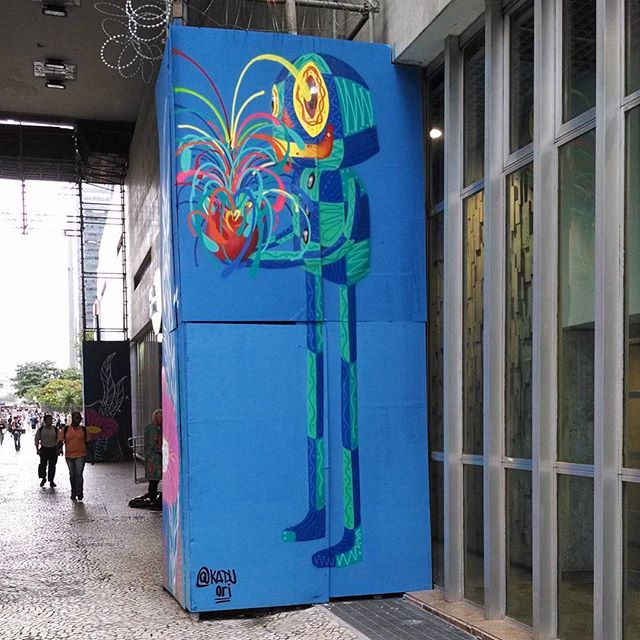 Caixa cultural. #kaduori #kaduoriginal #streetartrio #streetart #graffite #personagem