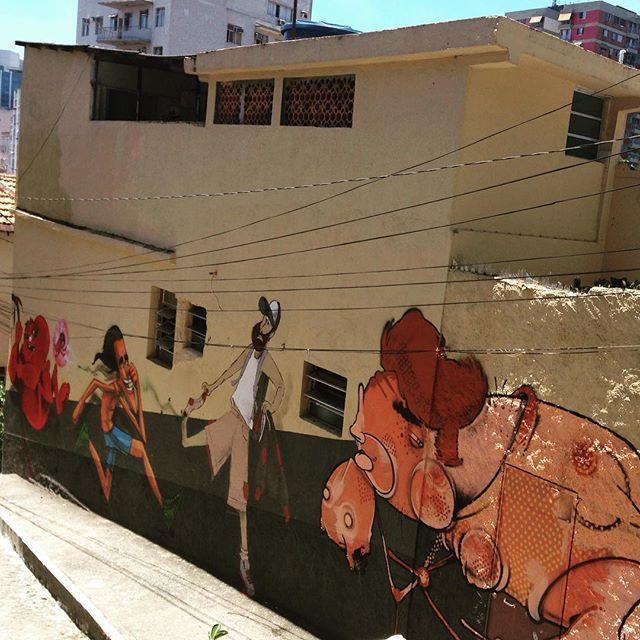 Completo com essa galera de peso! Conexão Rio x Sp #streetartrio #streetart #ladeiradocastro