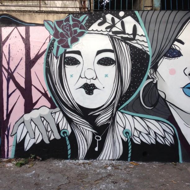 Eu e Zeco, domingo nas ruas da Zn. #streetartrio #ruasdazn