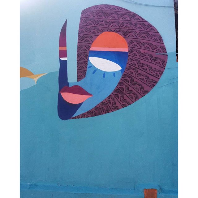 Flor da Ilha #streetart #graffiti #art #streetartrio #instaart #arte #ilhagrande #rj #errejota #bigisland #flordailhahostel #ururah