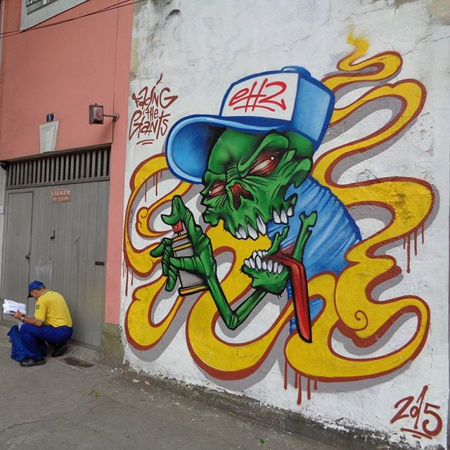 Graffiti art by @ch2ftg . #ch2ftg #facingthegiantsfamily #streetartrio #graffitiart