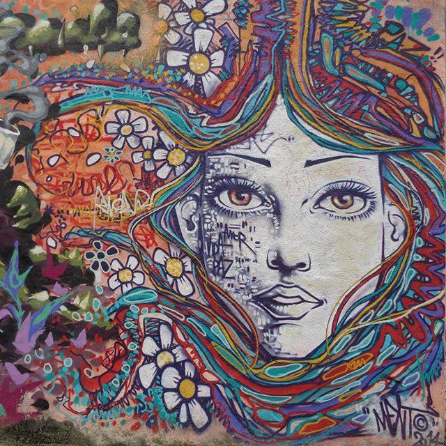 Graffiti art by @marceloment . #marceloment #mentone #streetartrio #graffitiart