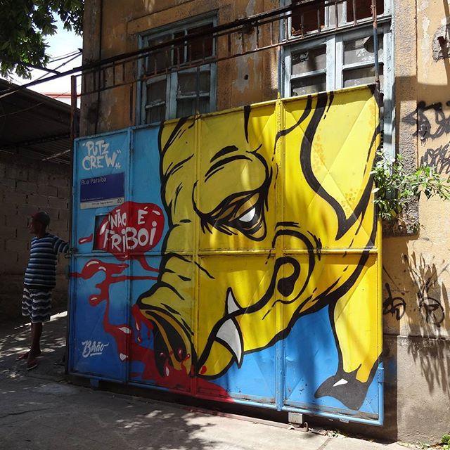 Graffiti art by Birão @angelomartins . #birao #putzcrew #streetartrio #graffitiart