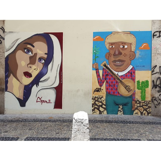 "Graffiti ""do ano passado""!! Follow @wallace.pato #capimnaparede #rjgraffiti #murosdacidade #streetartrio #streetart #graffitiwall #mural #mtn #colorgin"