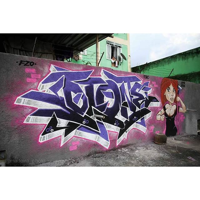 Master piece by : @raphadtone - RJ   Foto : @madeira_photo #graffiti #graffitiart #streetart #art #wildstylegraffiti #brasil #graffitilovers #streetartrio #wildstylebrasil #artsy #hiphop #street #rua