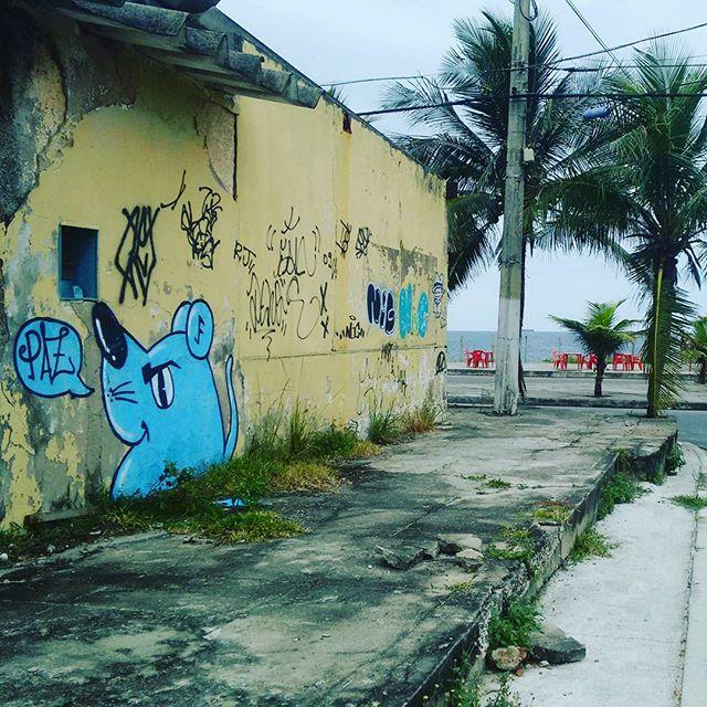 O tempo vai passar muitos vão desaparecer mas os que ficar não pode esmorecer ... 2016 #graffiti #graffitiart #arte #art #piratininga #niteroi #niteroigram #culture #lifestyle #flowers #streetartrio #streetartist #ratimblu #galeria #galeriaurbana #urbano #2016 #artvandal #praia #paz
