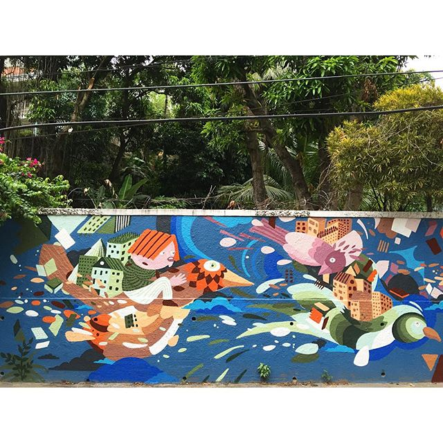 Obrigado Edipo. #graffiti #santateresa #riodejaneiro #artederua #streetartnews #streetartrio #streetartandgraffiti #mast #mastcora 1/3