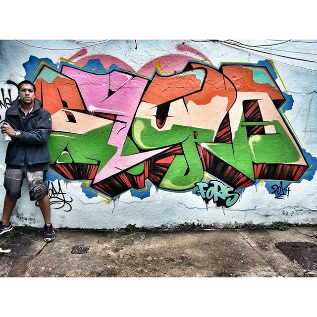 One of my favorite pieces - 2014 #graffiti #graffitiart #streetart #art #arte #arteurbana #graffitikings #letters #weloveletters #artsy #drawing #SprayArt #vscocam #wildstyle #wildstylegraffiti #graffitilovers #streetartrio #Blopa #BlopaOne #snapseed