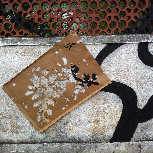 Santa Cruz, Rio de Janeiro 2016 #i_support_street_art #streetart_official #isupportstreetart #streetartbrasil #stencil #estêncil #streetartrio #streetart #instagrafite #mtnrio #mtnbrasil #mtnword #montanacolors #streetartofficial #streetartphotography #graffitiart #art #streetart #instagraffiti #streetartist #graffiti #stencil #urbanart #streetarteverywhere #streetartblvd