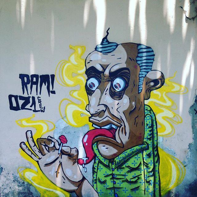 Um pirulito por favor Ram - 021crew #arte #art #artwork #brasil #cabofrio #400cores #cores #color #draw #graffiti #graff #lifestyle #persona #ram #rua #streetartrio #streetart #street #tag #urbanart #urbanculture