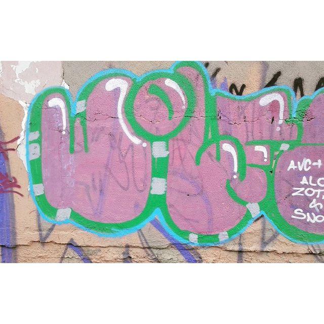 #calvinwolf #wolf #vandal #GRAFFITI #instagrafite #streetartrio #AVCrew Bom e quando fazemos aquilo que gostamos