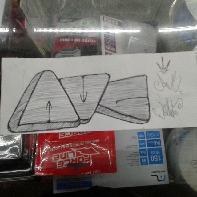 #calvinwolf #wolf #vandal #letter #graffiti #instagrafite #streetartrio #AVCrew AVC não é modinha aqui ngn e da calçada !!