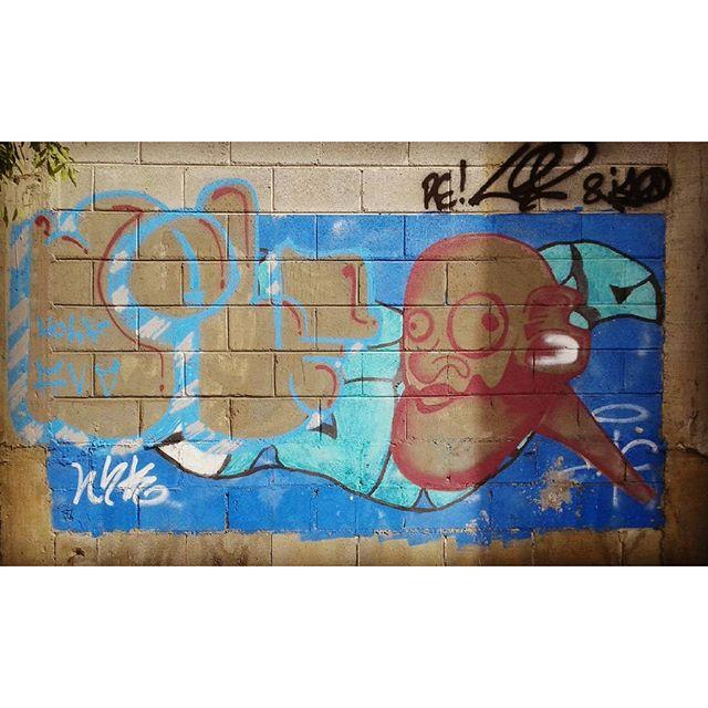 #calvinwolf #wolf #vandal #letter #graffiti #instagrafite #streetartrio #AVCrew #persona Wolf e Dyc na pista de role !!