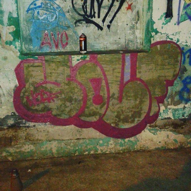 #calvinwolf #wolf #vandal #letter #graffiti #instagrafite #streetartrio De voltas as origens