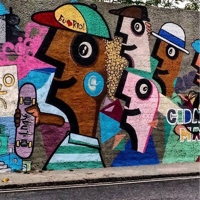 #rio450 #RiodeJaneiro #brazil #grafite #streetart #arte #art #graffiti #artederua #urbanart #desenho #street #draw #graff #spray #urban #cultura #colors #Culture #StreetArtRio #motofoto #brarts