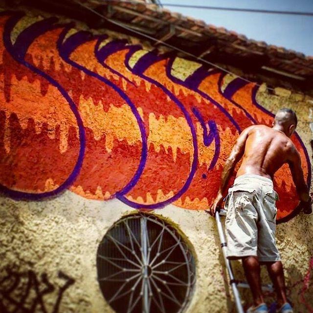 #sonbil #graffiti #bomb #ilovebombing #besidecolors #allcitycanvas #allcitypaint #instagrafite #ruasdazn #streetartrio Processo da sopa de letras... Photo: @caioalf
