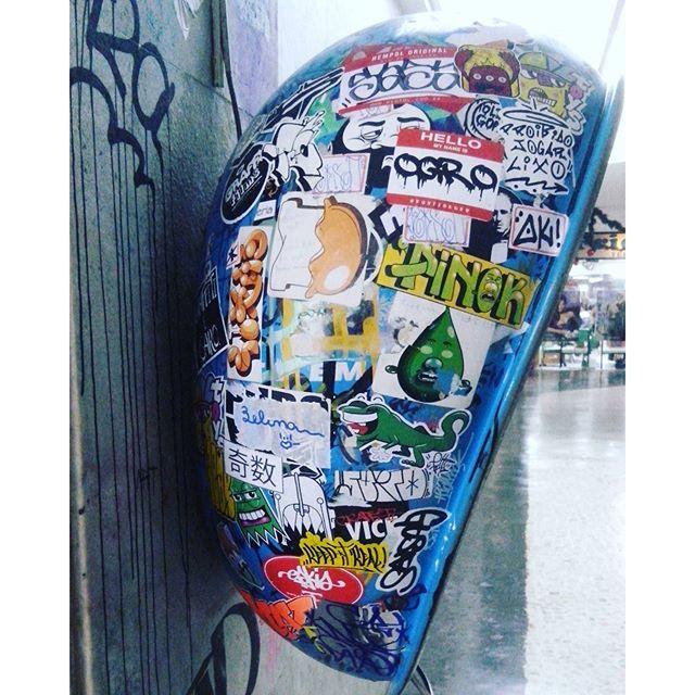 #stickers #street #arteurbana #vandal #streetart #streetartrio #rj