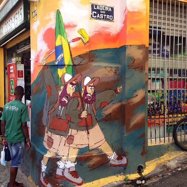#streetartnews #streetartrio #cazé #cazesawaya #barbudinhoandarilho #2016 #ladeiradocastro