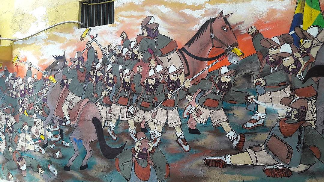 @cazesawaya #streetart #streetartrio #cazesawaya