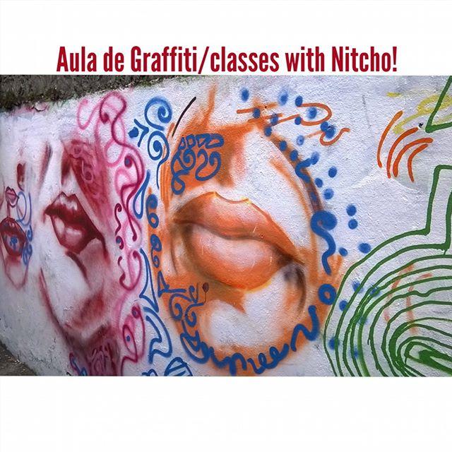 Aula de Graffiti / Graffiti classes. Pra quem ta afim de aprender uma nova habilidade, ampliar suas técnicas, trabalhar com tinta em diferentes suportes e abrir a possibilidade de pintar nas ruas por onde você passa. Deixe sua arte e suas idéias nos muros. Fala comigo! • Aberto a todo tipo de pessoas, profissionais, comerciantes, designers, artistas, produtores, fotógrafos, cineastas, etc.; • Qualquer nível de escolaridade; • A partir dos 12 anos; • Turmas de até 3 pessoas; • Atenção direcionada ao desenvolvimento de cada aluno em particular; • Local tranquilo e agradável no Jardim Botânico; CONTATO: joaonitcho @ Gmail .com 997.321.996