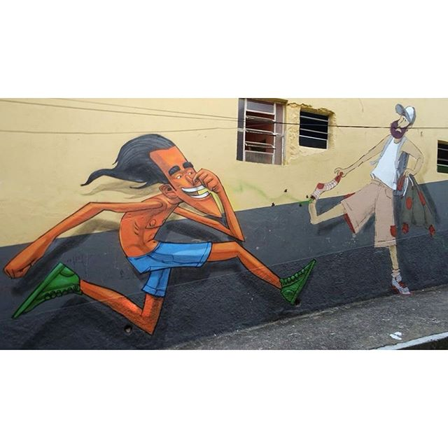 Chulé bolado do responsa @cazesawaya ;)> #ladeiradocastro #santateresa #lapa #riodejaneiro #streetartrio #fatcap