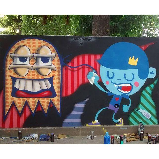 Cores!!! Eu quero cores!!! Colors!!! I want colors!!! #trapacrew #nadigraffiti #cast #graffiti #graff #urban #urbanart #streetartrio #streetart #tijuca #instagram #instagraff #mtn94 #tafaltandomuro
