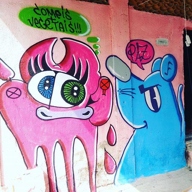 Foco na mensagem coragem e disposição .... #graffitiartist #art #artist #arteurbano #congonhas #RJ #streetart #streetartrio #rua #ratimblu #vacamutant