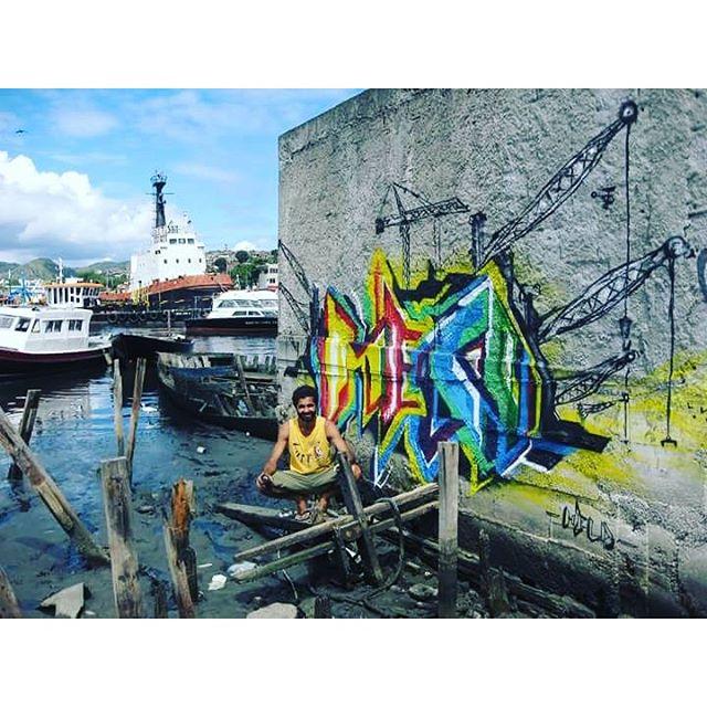 Graffiti!!! 2013 #marcelomeloarteurbana #graffiti #baiadeguanabara #niterói #rj #streetart #streetartrio #street #streetstyles_gf #streetstyle #letrasgraffiti #ilha #ilhadaconceicao