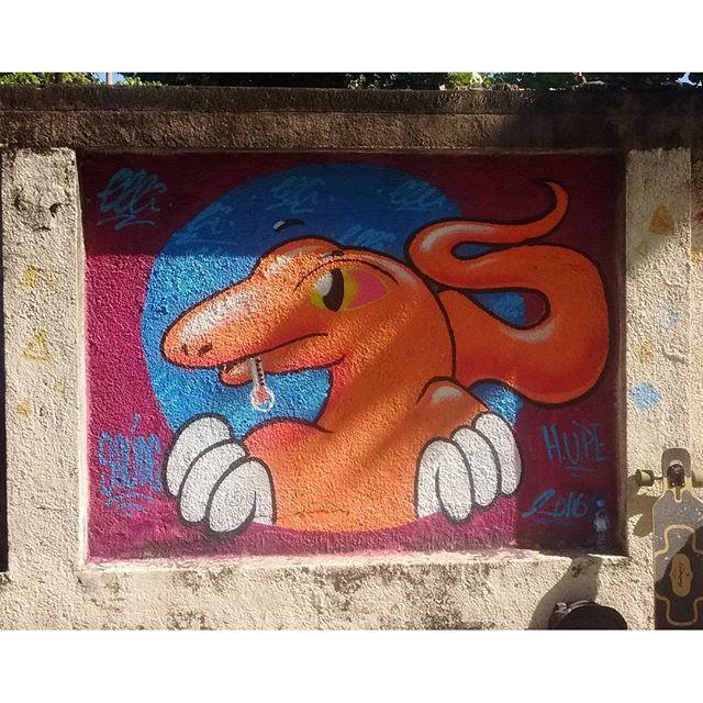Hoje rolou o grafitAto no Hospital Pedro Ernesto em Vila Isabel!