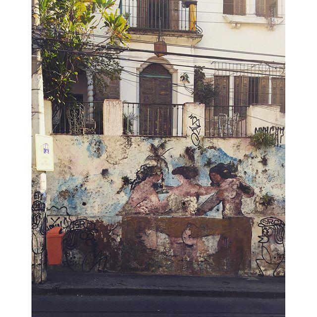 La danse #riodejaneiro #StreetArtRio