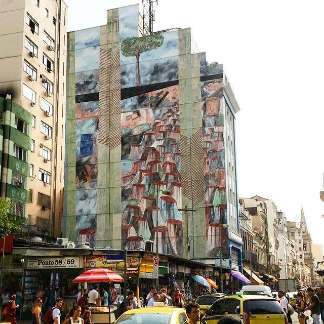 Mata Atlântica -> selva de pedra #GraffitiRio #StreetArtRio