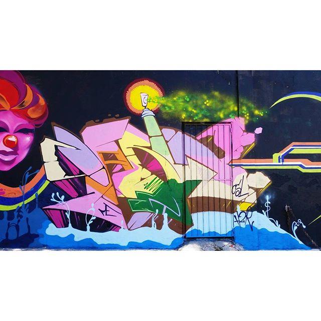 R.U.A - 2016 #STREET #graffiti #graffitiart #streetart #art #arte #arteurbana #graffitikings #letters #weloveletters #artsy #drawing #SprayArt #vscocam #wildstyle #wildstylegraffiti #graffitilovers #streetartrio #Blopa #BlopaOne