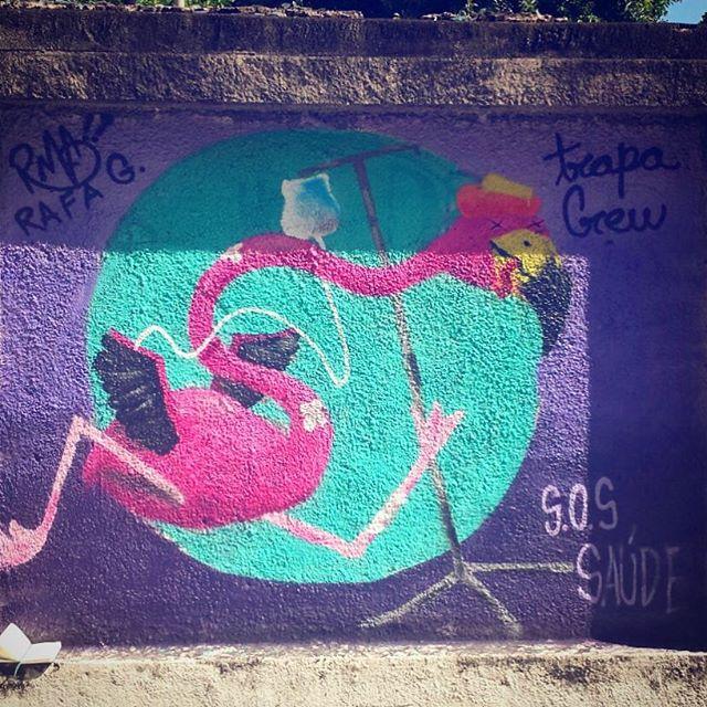 Rafa no grafitAto no Hospital Pedro Ernesto!