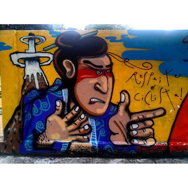 #StreetArtRio Grafite nos muros da Escola Municipal Pedro Ernesto, 2/3 Artista do detalhe: @chicosilva21 (Chico Silva) Tirada em 12/01/2016