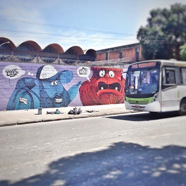 The end! #streetart #streetartrio #streetsketch #forabuziosecartas #charactergraffiti #graffiti #instagrafite
