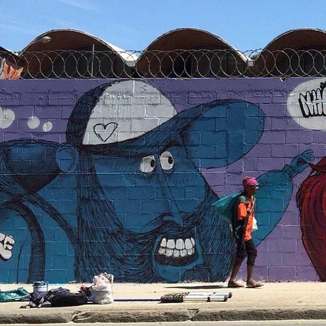 Um plano fechadinho pros detalhes. #cazé #cazesawaya #streetartrio #streetart #streetsketch #charactergraffiti #helldejaneiro #hell #riodejaneiro #samba