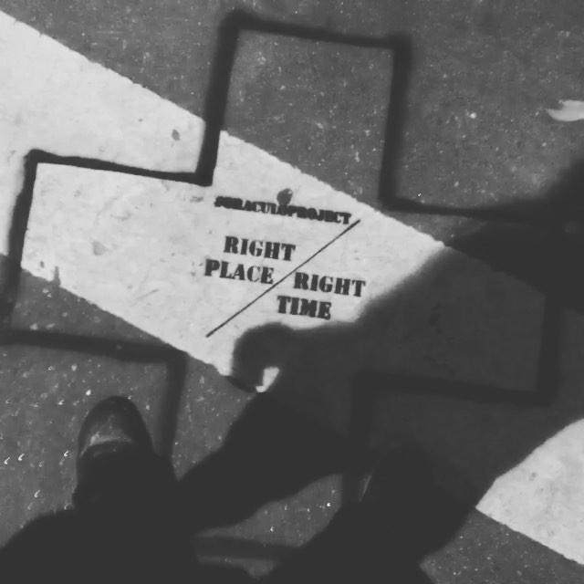 #oraculoproject #streetart #artederua #arteurbana #urbanart #philosophy #filosofia #rightplacerighttime #appreciatelife #temosnossopropriotempo #loop #now #alwaystherighttime #sidewalkart #streetartphotography #stencil #stencilart #riodejaneiro #rightrime #streetartrio #mundomaluco #rightplace #mundofantastico #magica #magic
