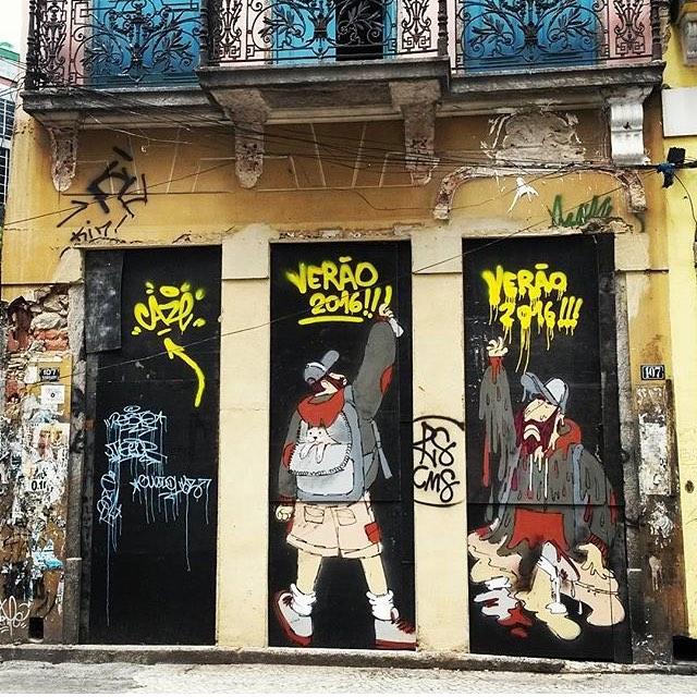 #repost #thiago O calor está de matar no #helldejaneiro !!! #verao2016 #hot #riodejaneiro #streetartrio #streetart