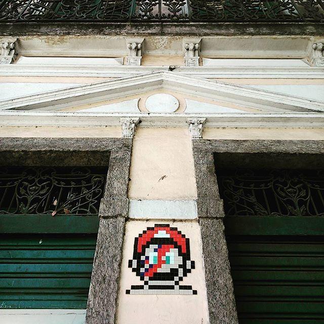 #supermario #bowie #streetartrio #lapa