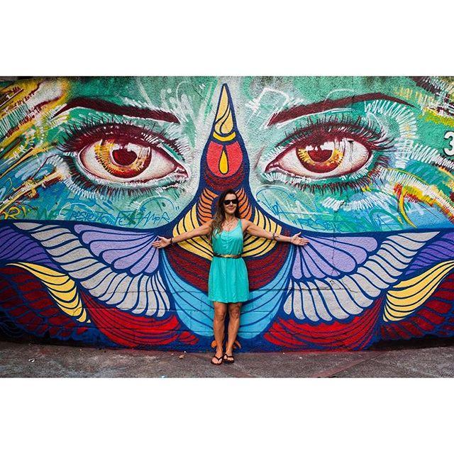 A arte vai salvar o mundo! ️ obrigada pela foto @marcelogmvalle #graffiti #riodejaneiro #streetart #streetarteverywhere #streetartrio #aartevaisalvaromundo